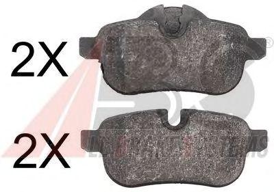 Тормозные колодки A.B.S. 37730