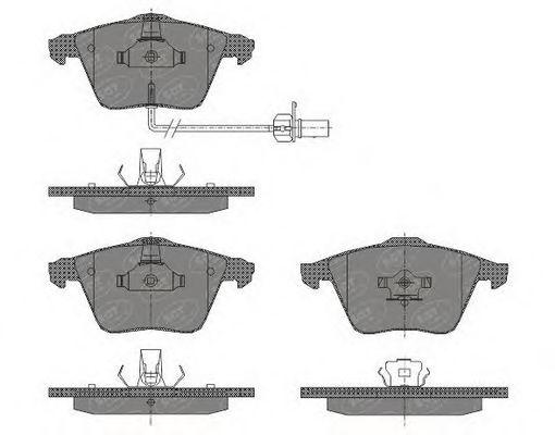 Тормозные колодки SCT Germany SP 432
