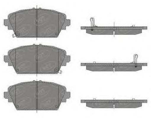 Тормозные колодки SCT Germany SP 442
