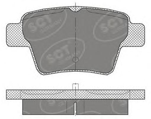 Тормозные колодки SCT Germany SP 456