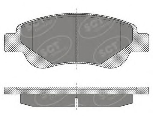 Тормозные колодки SCT Germany SP 609