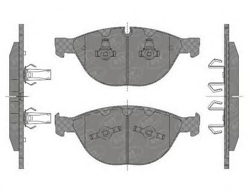 Тормозные колодки SCT Germany SP 648
