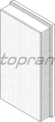 Воздушный фильтр TOPRAN 112 381