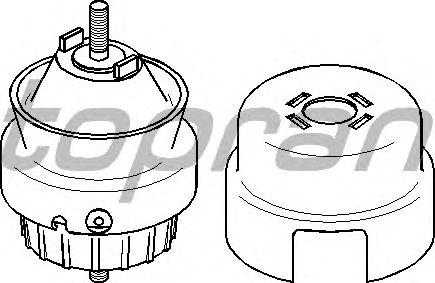 Подушка двигателя TOPRAN 111 432
