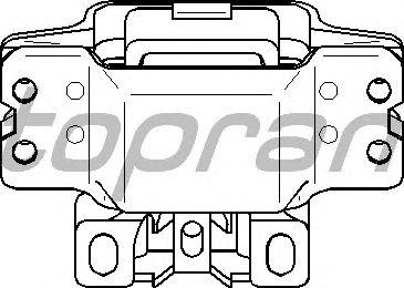 Подушка двигателя TOPRAN 110 128