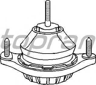 Подушка двигателя TOPRAN 104 397