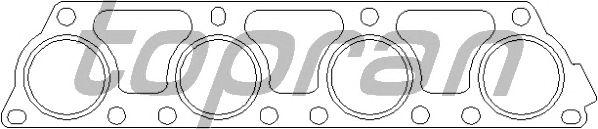 Прокладка выпускного коллектора TOPRAN 110 504