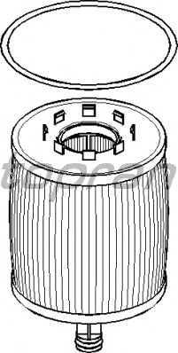Масляный фильтр TOPRAN 113 545