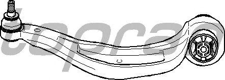 Рычаг подвески TOPRAN 114 371