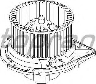 Вентилятор отопителя TOPRAN 112 106