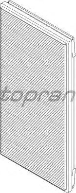 Фильтр салона TOPRAN 501 187