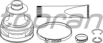 Комплект пыльника ШРУСа TOPRAN 301 937