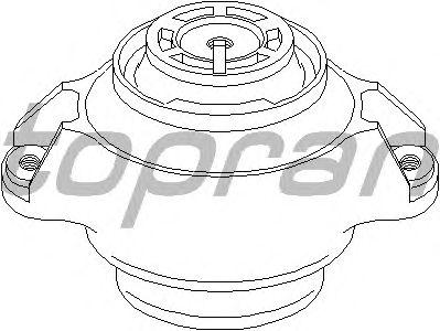 Подушка двигателя TOPRAN 400 028