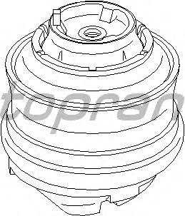 Подушка двигателя TOPRAN 401 257