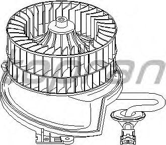 Вентилятор отопителя TOPRAN 401 541