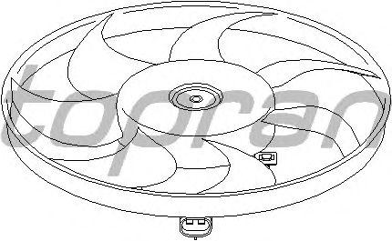 Вентилятор охлаждения TOPRAN 202 364