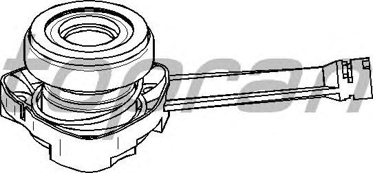 Центральный выключатель сцепления TOPRAN 207 122