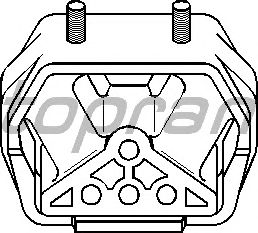 Подушка двигателя TOPRAN 205 614