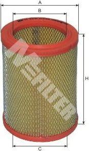 Воздушный фильтр MFILTER A 276