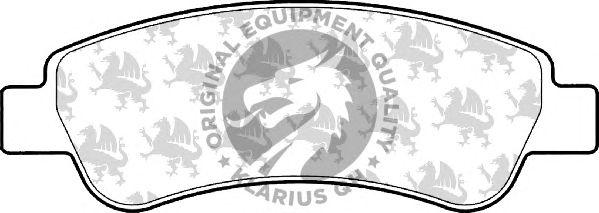 Тормозные колодки QH International BP1574