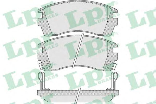 Тормозные колодки LPR 05P1011