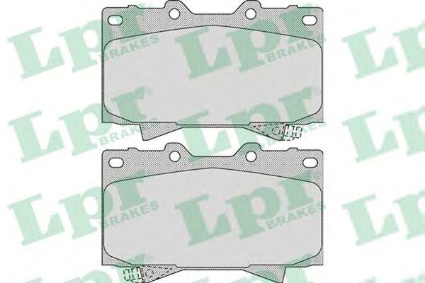 Тормозные колодки LPR 05P1050