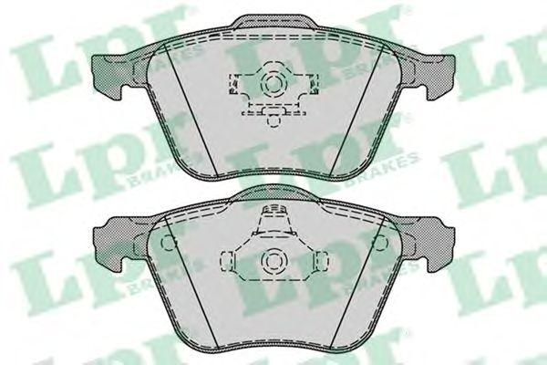Тормозные колодки LPR 05P1286
