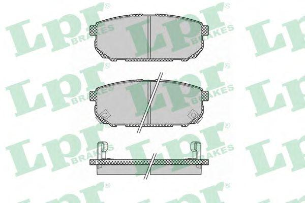 Тормозные колодки LPR 05P1370