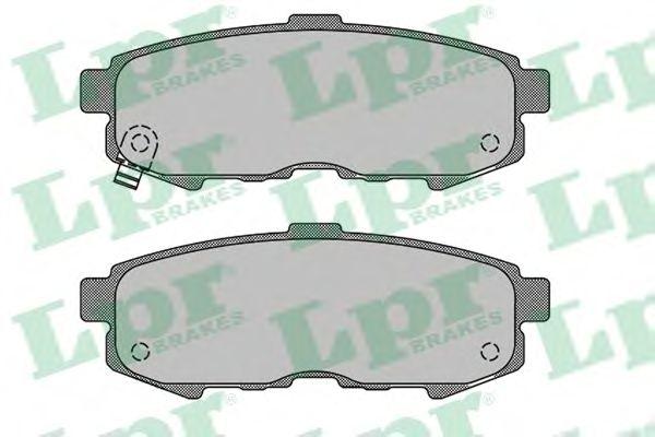 Тормозные колодки LPR 05P1503
