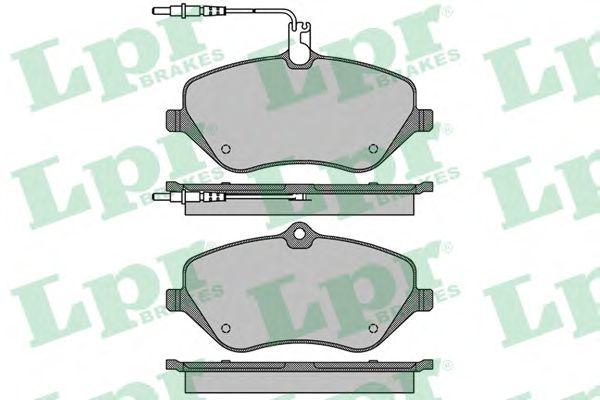 Тормозные колодки LPR 05P1666