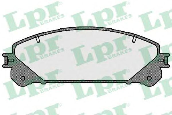 Тормозные колодки LPR 05P1691