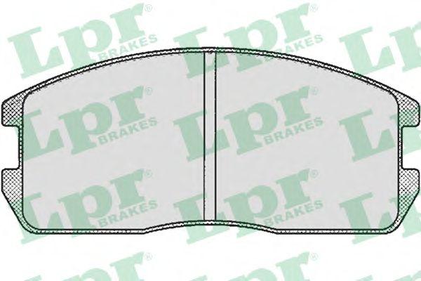 Тормозные колодки LPR 05P265