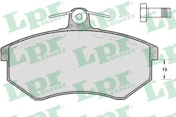 Тормозные колодки LPR 05P299