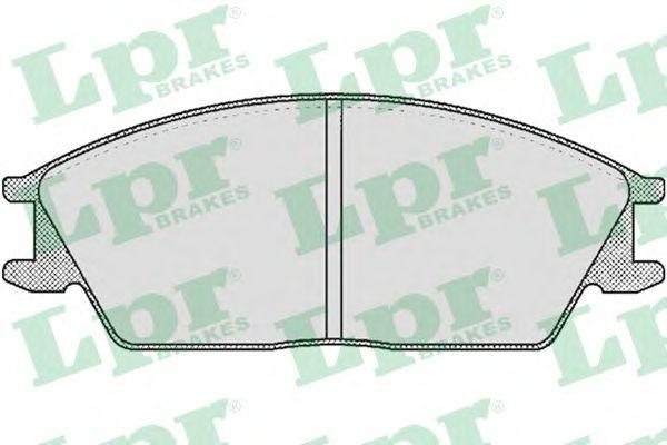 Тормозные колодки LPR 05P364