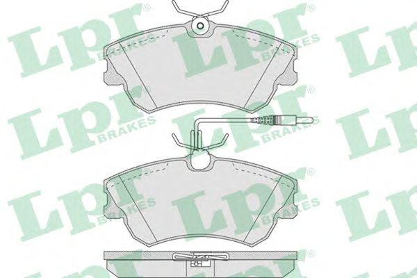 Тормозные колодки LPR 05P750