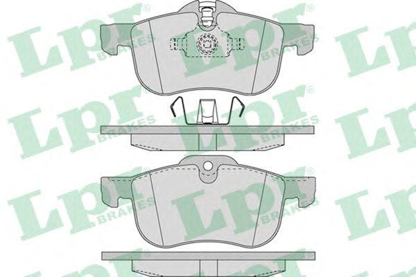 Тормозные колодки LPR 05P952