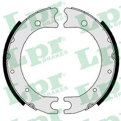 Тормозные колодки ручника LPR 08860