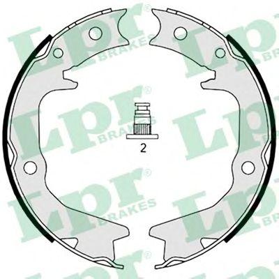 Тормозные колодки ручника LPR 08920