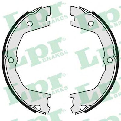 Тормозные колодки ручника LPR 09080