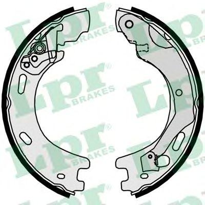 Тормозные колодки ручника LPR 09570