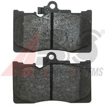 Тормозные колодки A.B.S. 37591