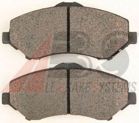 Тормозные колодки A.B.S. 38418