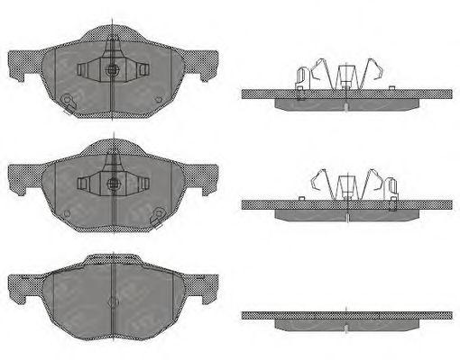 Тормозные колодки SCT Germany SP 447