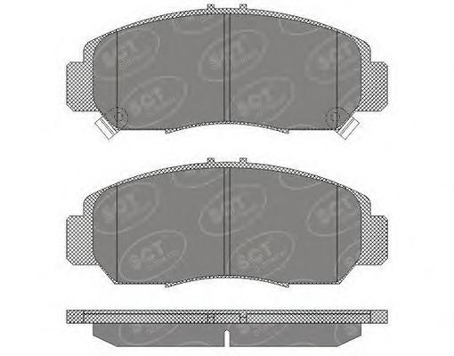 Тормозные колодки SCT Germany SP 628