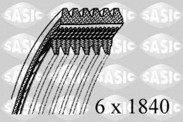 Поликлиновой ремень SASIC 1776102