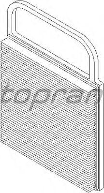 Воздушный фильтр TOPRAN 109 384