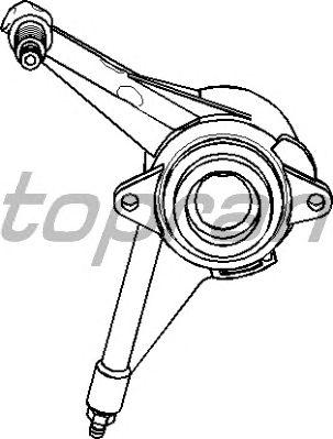Центральный выключатель сцепления TOPRAN 109 632