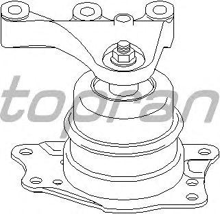 Подушка двигателя TOPRAN 110 381