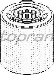 Воздушный фильтр TOPRAN 113 192