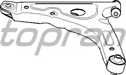 Рычаг подвески TOPRAN 302 018